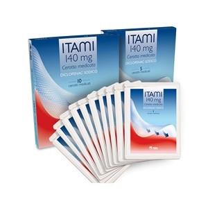Offerta Speciale Itami 5 cerotti medicati antinfiammatori 140mg