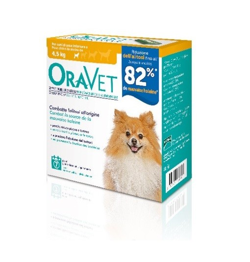 Offerta Speciale ORAVET CHEWING-GUM DOG EXTRA SMALL 7 PEZZI