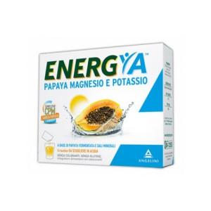 Offerta Speciale ENERGYA PAPAYA MAGNESIO POTASSIO 50+ 14 BUSTINE