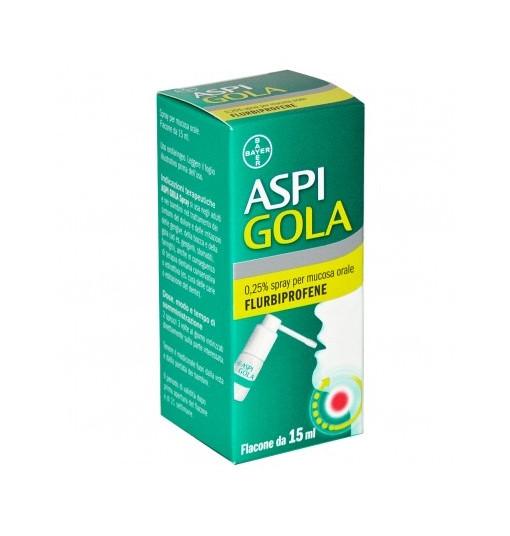 Offerta Speciale Aspi Gola Os Spray 15Ml 0,25%
