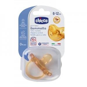 Chicco Gommotto Physio Soft Ltx 6-12 Mesi 1 Pezzo