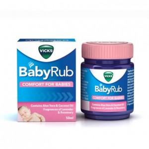 Vicks Babyrub 50 G