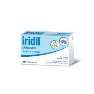 Iridil Lavaocchi 14 Salviette Monouso