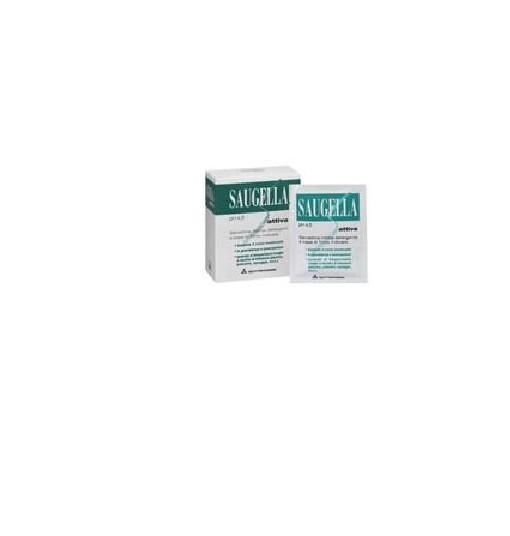 Saugella Attiva Salviettine Detergenti 10 Bustine