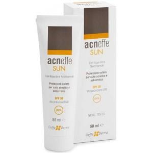 Acneffe Sun Spf 30 Alta Protezione Uvb Per Cute Acneica E