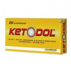 Offerta Speciale Ketodol 20Cpr 25Mg+200Mg