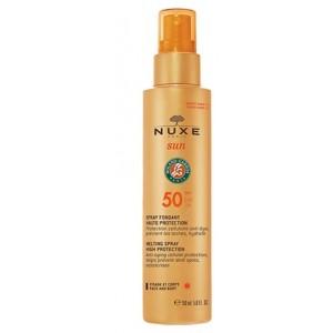 Nuxe Sun Spray Fondant Haute Protection Spf50 Visage Et Corps