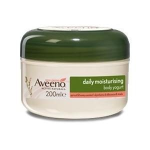 Aveeno Crema Corpo Yogurt Vaniglia & Avena 200 Ml