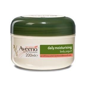 Aveeno Crema Corpo Yogurt Albicocca & Miele 200 Ml