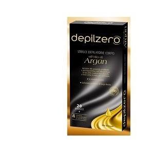 Depilzero Argan Strisce Depilatorie Corpo 20 Pezzi