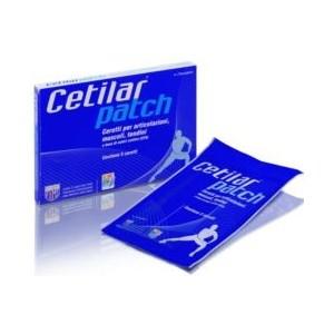 Cetilar Patch 5 Pezzi Per Articolazioni Muscoli E Tendini