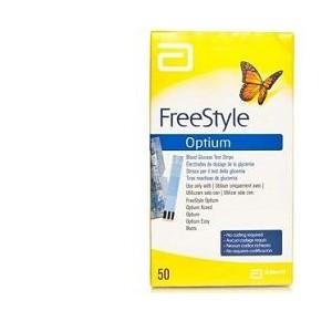 Strisce Misurazione Glicemia Freestyle Optium Test Strips 25