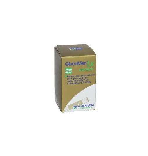 Strisce Misurazione Glicemia Glucomen Lx Plus 25 Pezzi