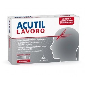 Acutil Lavoro 12 Bustine 1,2 G