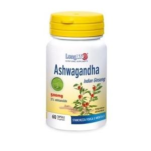 Longlife Ashwagandha 60 Capsule 500 Mg