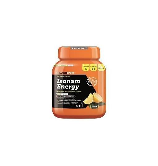 Isonam Energy Lemon Polvere 480 G