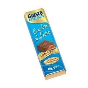 Giusto Senza Zucchero Cioccolato Latte 42 G