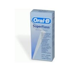 Filo Interdentale Oral B Superfloss Estremita' Rigida + Filo