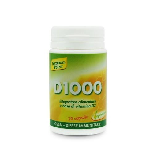 D1000 70 Capsule Vegetali