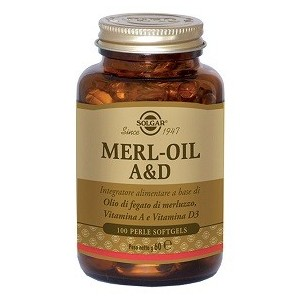 Merl Oil A&D Flacone 100 Perle Softgel