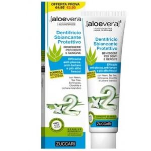 Aloevera2 Dentifricio Sbiancante Protettivo Con Stevia 100 Ml