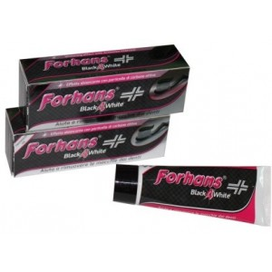 Forhans Black4White Dentifricio 12 Ml