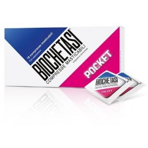 Offerta Speciale Biochetasi Pocket 18 Compresse Masticabili