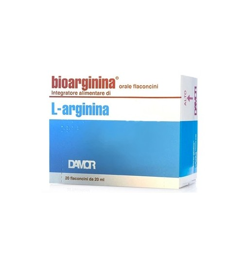 Bioarginina Orale 20 Flaconcini Da 20 Ml