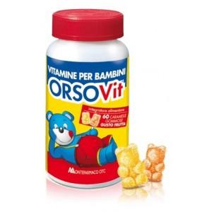Orsovit Caramelle Gommose Vitamina Bb Senza Glutine 60Pz