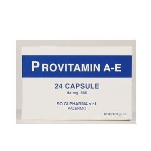 Provitamin Ae 24 Capsule Nuova Formula