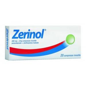 Zerinol 20Cpr Riv 300Mg+2Mg