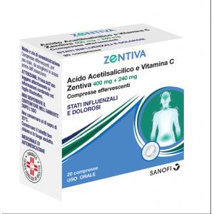 Acido Acetils Vit C Zen 20Cpr