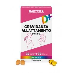 Dailyvit+ Gravidanza Allattamento Con Dha Multivitaminico E