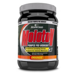 Molotov Pumped Pre-Workout Orange Blast 600 G