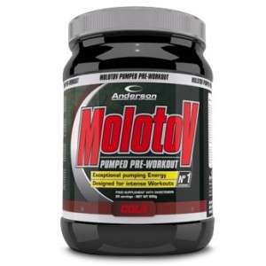Molotov Pumped Preworkout Cola 600 G