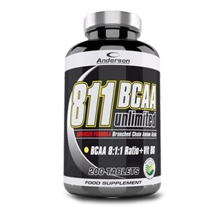 811 Bcaa Unlimited 200 Compresse