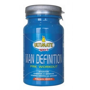 Ultimate Man Definition Pre-Workout Arancia