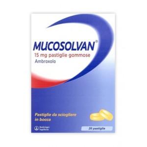 Mucosolvan 20Pastl 15Mg