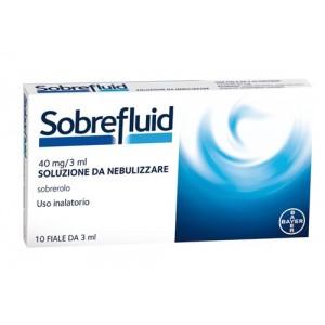 Offerta Speciale Sobrefluid Nebul 10F 40Mg 3Ml