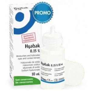 Hyabak Protector Soluzione Oftalmica Sodio Ialuronato 0,15%