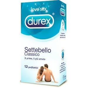 Profilattico Durex Settebello Classico 12 Pezzi