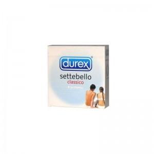 Profilattico Durex Settebello Classico 3 Pezzi