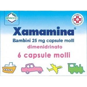 Xamamina Bb 6Cps 25Mg