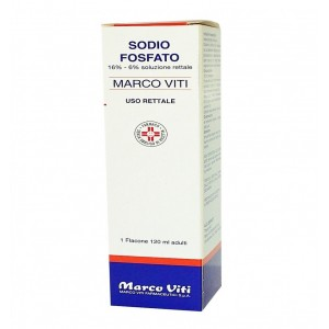 Sodio Fosfato Mv Rett 120Ml
