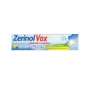 Zerinolvox Limone/Eucalipto Emolliente E Protettivo 18 Pastiglie