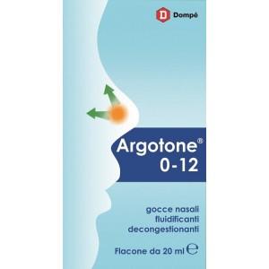 Argotone 0-12 Soluzione Per Lavaggio Nasale 20 Ml