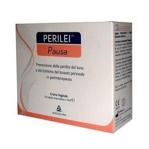 Perilei Pausa Crema Vaginale 10 Tubetti Monodose Da 5Ml