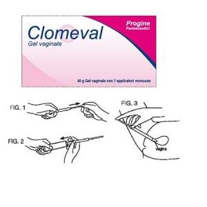Clomeval Gel Vaginale Tubo + 7 Applicatori Monouso