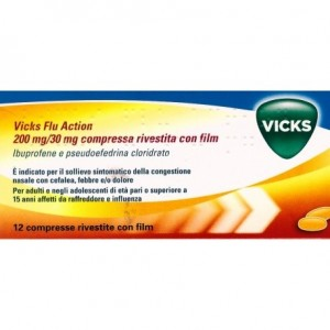 Offerta Speciale Vicks Flu Action 12Cpr200+30Mg