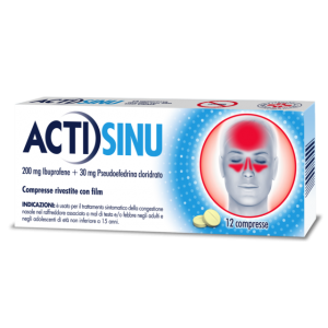 Offerta Speciale Actisinu 12Cpr 200Mg+30Mg